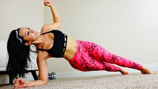 17 Minute Butt, Legs, and Abs Toning Workout!