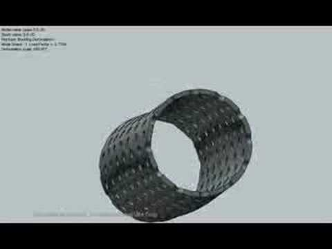 CosmosWorks Analysis For Perforated Pipe(s)