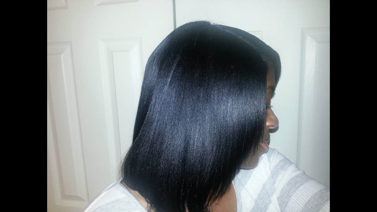 The Results Of Coloring My Hair With Clairol Natural Blue Black 124