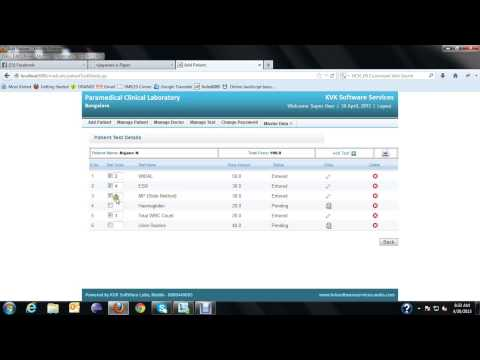 Laboratory Information Management System LIMS Software for Laboratory  Demo