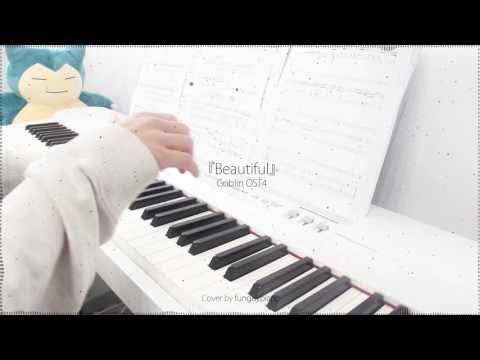 Goblin 도깨비 OST 4 - Beautiful By Crush 크러쉬 - Piano Cover W/ Sheet Music