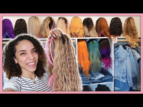 My $10,000 Wig Collection! (Human Hair Lace Wigs)