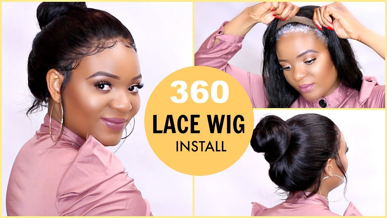HOW TO LAY A 360 LACE FRONTAL WIG   GLUELESS LACE WIG INSTALL USING GOT2BE  ULTRA GLUED  22e4b5d7fb