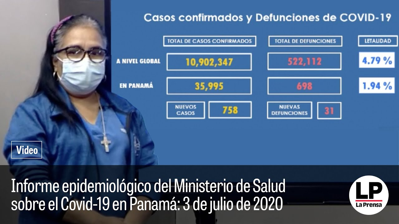 Informe epidemiológico: 3 de julio