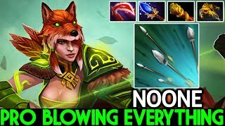 Noone [Windranger] Pro player Blowing Everything One ULT Kill Beautiful Plays 7.21 Dota 2
