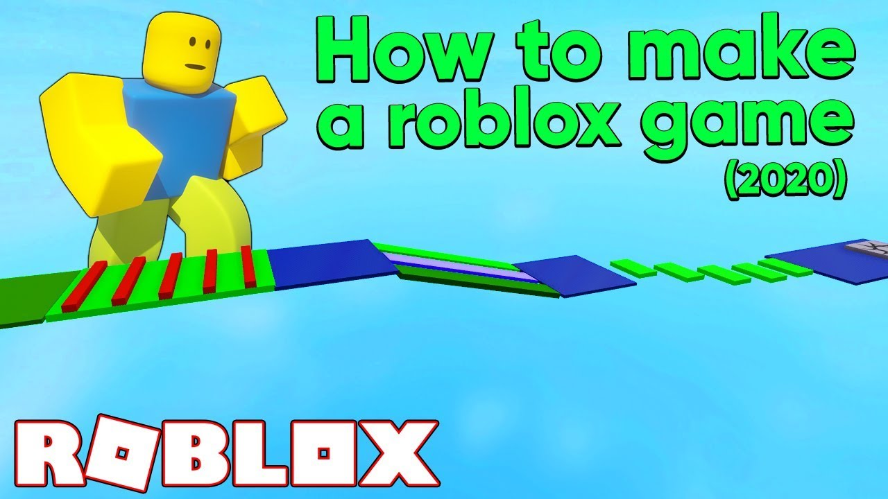 How To Make A Roblox Game In 15 Minutes 2020 Tutorial Youtube