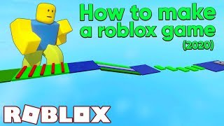 How to Make A Roblox Game in 15 Minutes (2020 Tutorial)