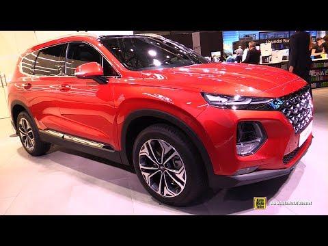 2019 Hyundai Santa Fe Exterior and Interior Walkaround 2018 Geneva Motor Show