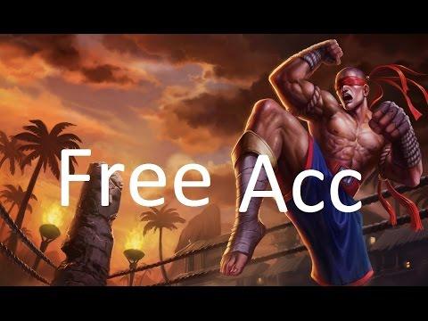 #2 Free Account League of Legends 30lvl