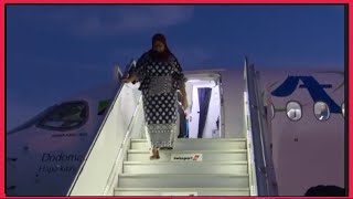 VIDEO: President Samia back to Tanzania after two-day State visit to Kenya