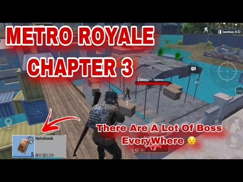 Download My First Gameplay Ä°n Metro Royale Chapter 3 / New Ä°tems,New Bosses And Others / PUBG METRO ROYALE