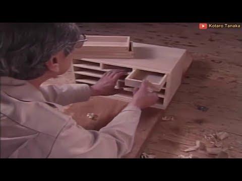Ancient Technology of Fine Cabinetmaking - Edo Sashimono Traditional Craft of Wooden Furniture