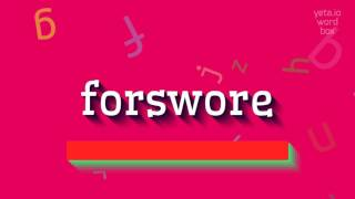Download lagu How to sayforswore MP3
