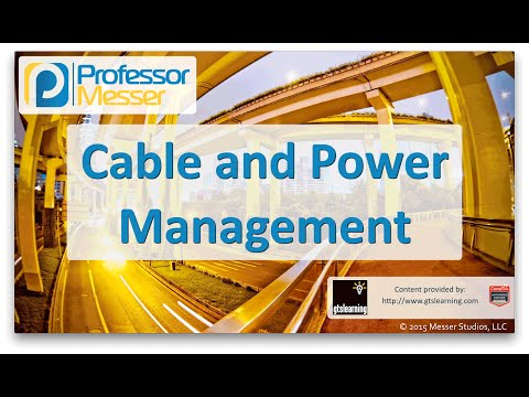 Cable and Power Management - CompTIA Network+ N10-006 - 5.7