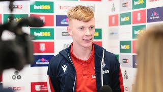 Sam Clucas on Stoke City's Swansea triumph