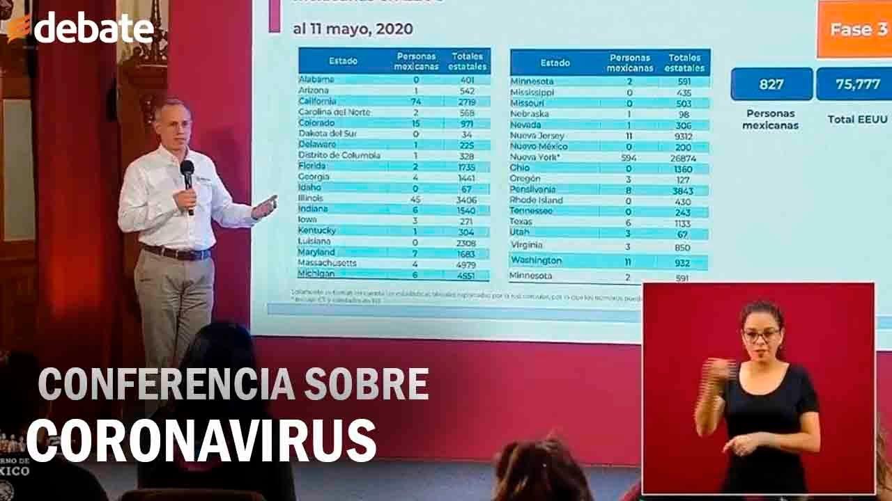 Informe diario sobre coronavirus COVID-19 en México, Martes 11 de agosto, 2020
