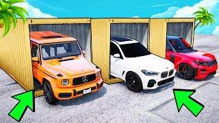 БИТВА ЗА КОНТЕЙНЕРЫ В ГТА 5 ОНЛАЙН. НОВЫЙ BMW X5 ПРОТИВ MERCEDES G63! СЛУЧАЙНЫЙ ВЫБОР!