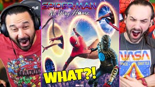 Spider-Man No Way Home Update (WHAT IS HAPPENING?!) - REACTION!!