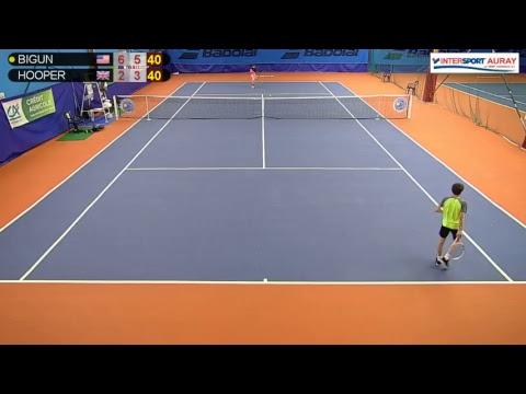 BIGUN Kaylan (USA) VS HOOPER Luke (GBR) - Tennis Club Auray - Auray 1