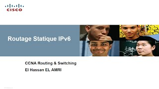 Routage Statique IPV6 (Darija)