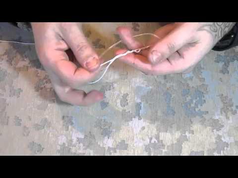 рыболовные узлы как привязать вертлюжок