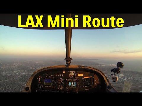 Flight from Santa Monica to John Wayne via LAX Mini Route
