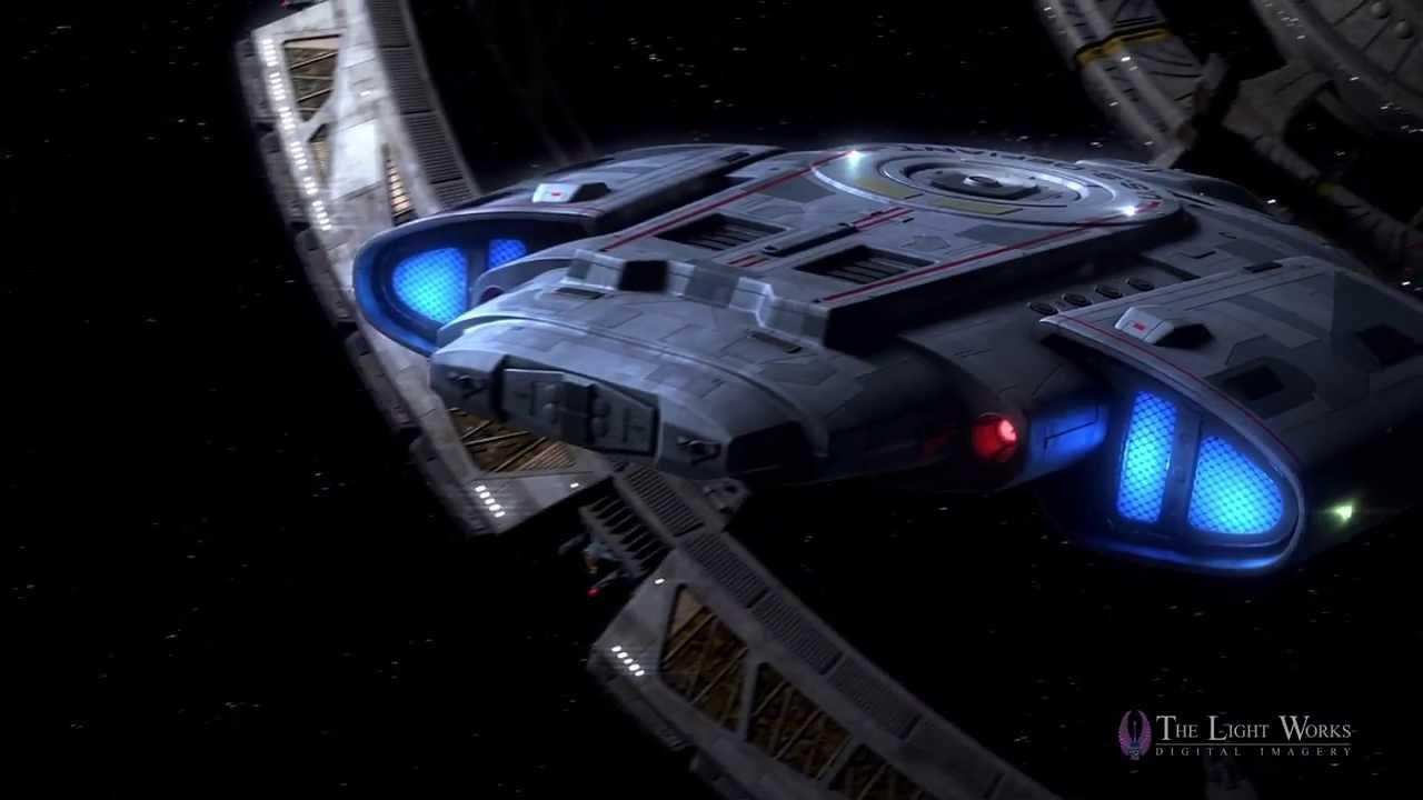Star Trek - Defiant Test Sample Ds9
