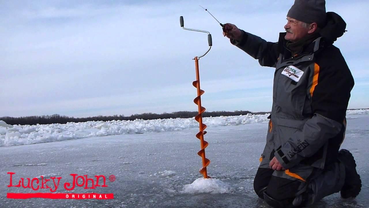 Зимняя ловля рыбы на съедобную резину