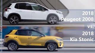 2018 Peugeot 2008 vs 2018 Kia Stonic (technical comparison)