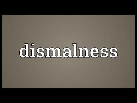 Header of dismalness