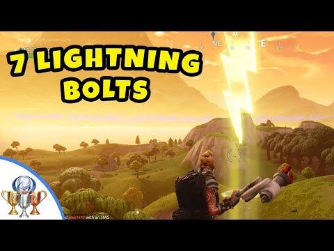 Fortnite Search 7 Lightning Bolt Locations Guide - Fortnite Battle Royale Season 5 Challenge Guid