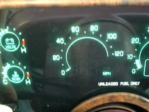 Digital Cluster in a 1990 Buick Riviera