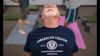Veterans find healing through yoga