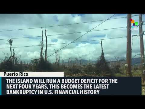 In Bleack Forecast, Puerto Rico Sees No Debt Payment Until 2022