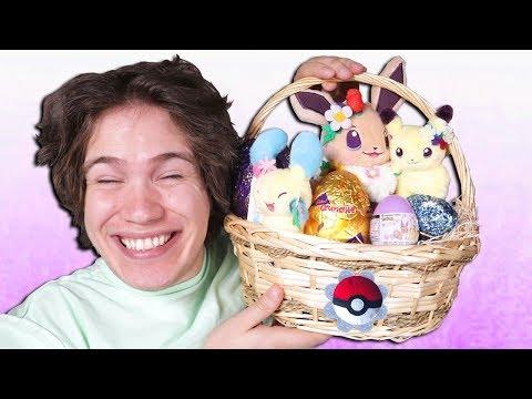 Surprise Pokemon Easter Egg Basket Opening! [LIMITED EDITION]