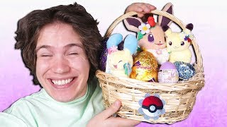 Surprise Pokemon Easter Egg Basket Opening! [LIMITED EDITION]