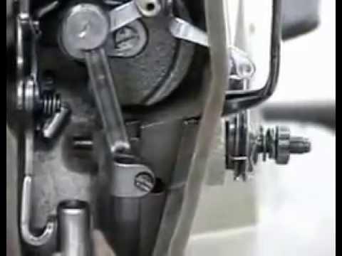 Graduación de la barra de aguja de la máquina plana - YouTube