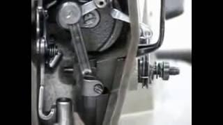 Graduación de la barra de aguja de la máquina plana