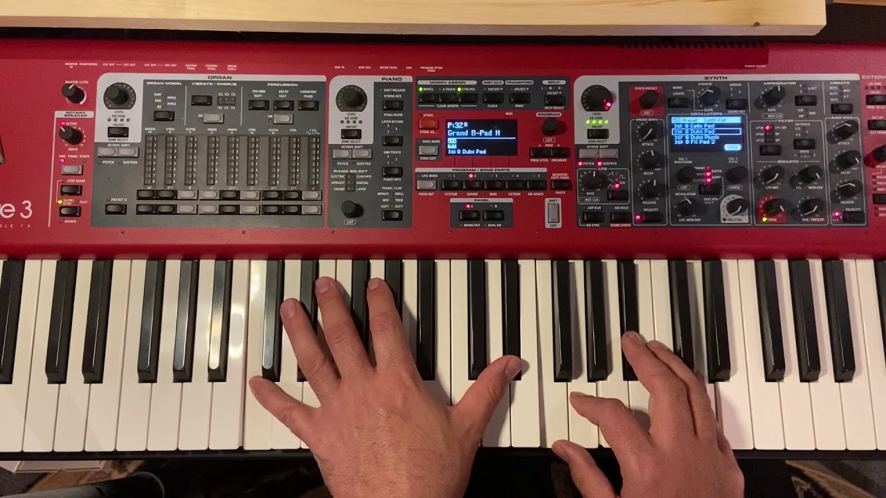 How to use Packs with the Nord Stage 3 Worship Collection