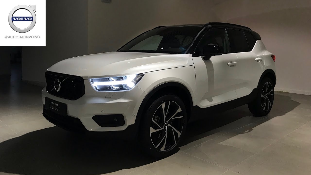 volvo xc40 39 18 t5 awd r design exterior interior youtube. Black Bedroom Furniture Sets. Home Design Ideas