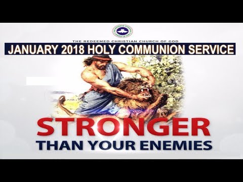 RCCG January 2018 HOLY COMMUNION SERVICE
