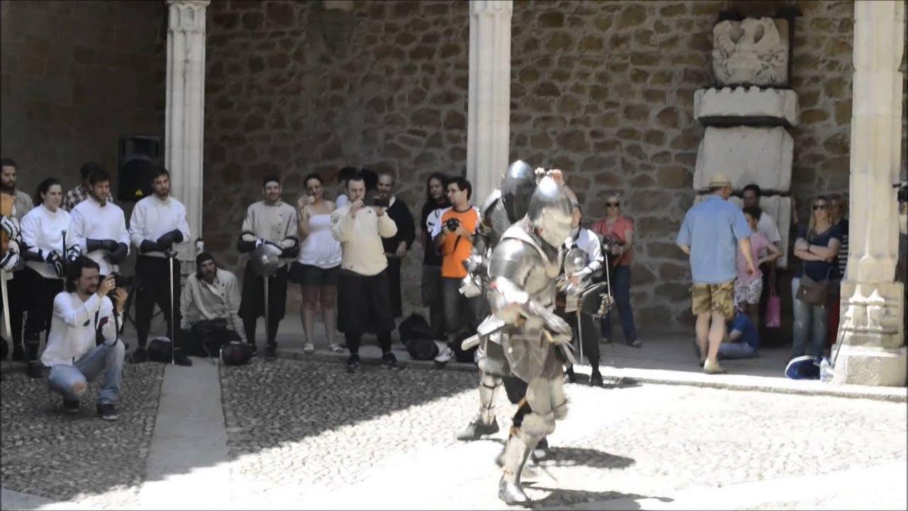 Esgrima antigua en el castillo manzanares el real youtube - Casa en manzanares el real ...