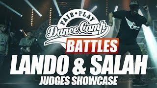 Judges: Lando & Salah | Fair Play Dance Camp + World Beatbox Camp: Dance Battle to the Beatbox 2017