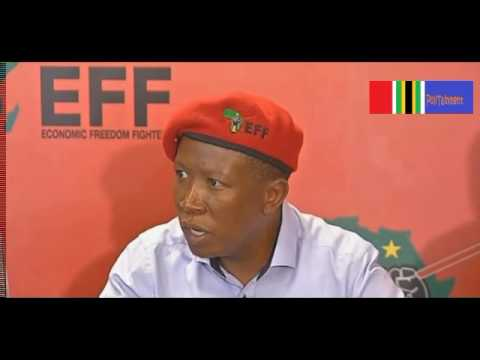 Julius Malema: Response of EFF to reshuffling of cabinet and connection of Gigaba to Guptas