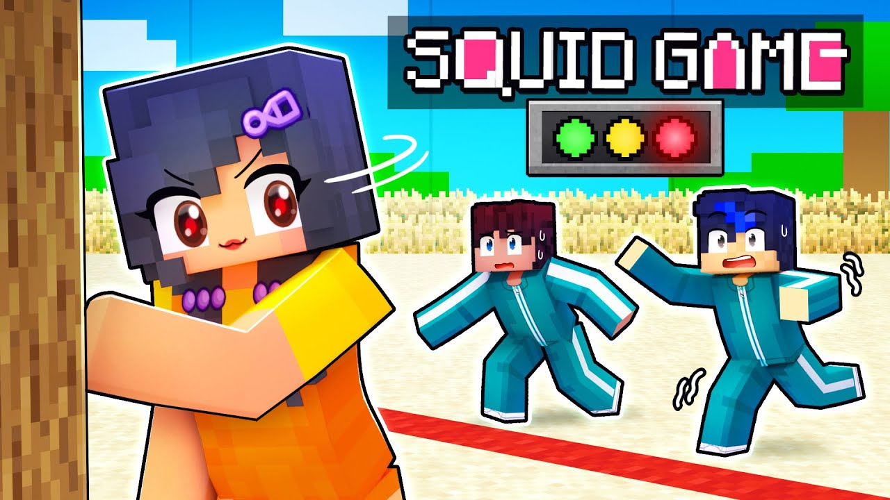 Living As the SQUID GAME Doll In Minecraft!