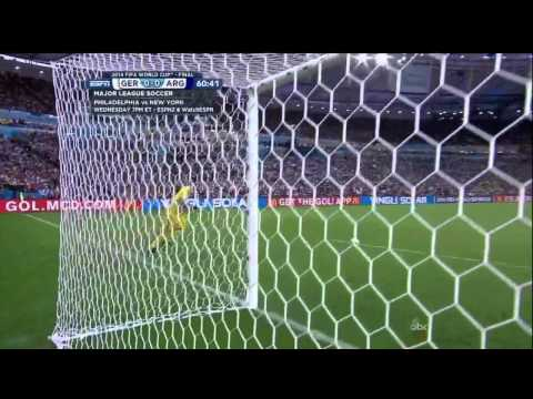 Germany Argentina 2014 World Cup Final Full Game ESPN Deutschland
