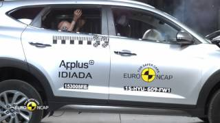 Euro NCAP Crash Test of Hyundai Tucson 2015
