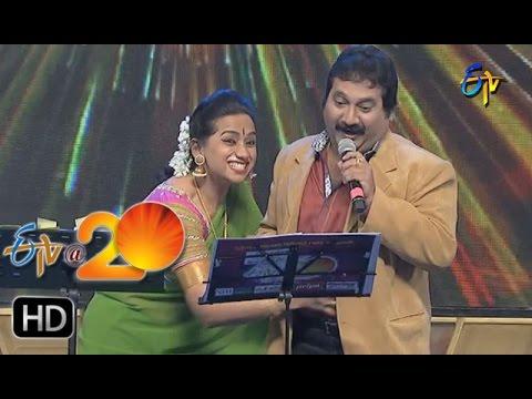 Mano,Kalpana Performance - Cheekulamme Chinnadi Kavala Song in Anantapur ETV @ 20 Celebrations