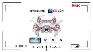 Мини Квадрокоптер с камерой Cheerson CX-10W - Обзор / Как купить?(Описание / Цена / Заказать - http://ali.pub/r6lma Cheerson CX-10W — мини-коптер со встроенной камерой и ВАЙФАЙ! Этот малютка..., 2016-05-30T18:05:20.000Z)