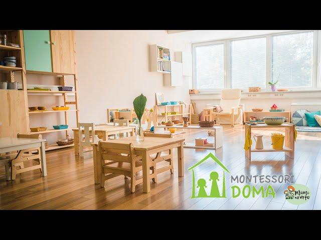 Kako prilagoditi dom, pospravljanje za seboj, priprava obroka z Mojco Košič, Montessori doma | 2.del